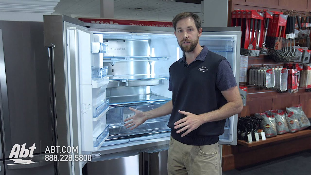 How To Replace The Water Filter On Your Samsung Convertible French Door Refrigerator Using