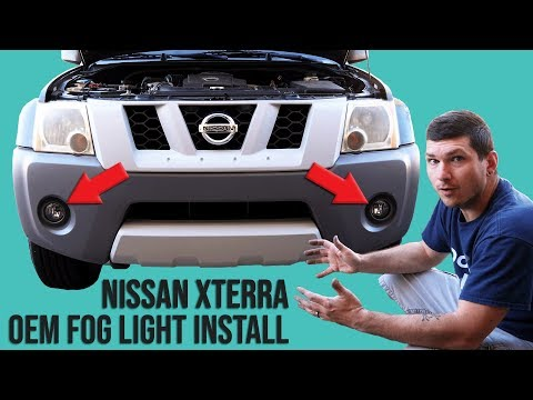 How To Install OEM Fog Lights Into A Nissan Xterra