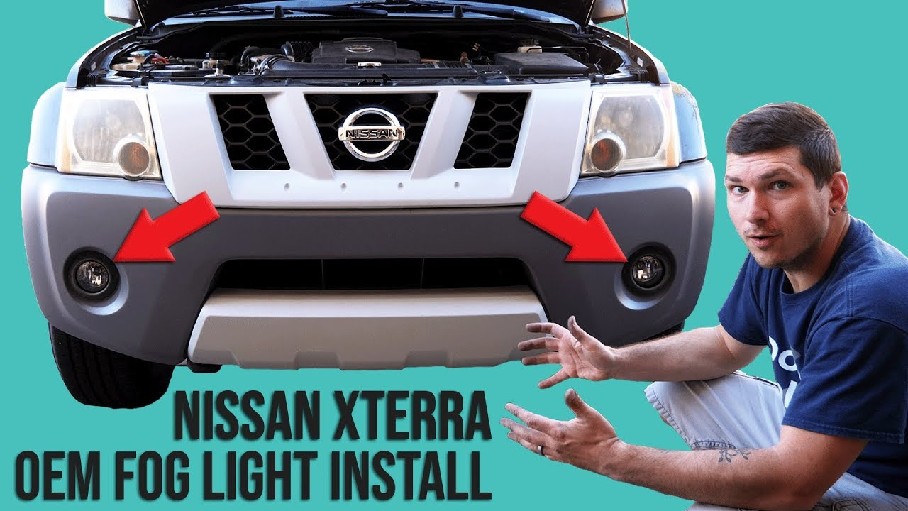How to Install OEM Fog lights into a Nissan Xterra - YouTube  Xterra Fog Light Wiring Harness on fog light grille, fog light cover, camaro fog light harness, fog lights kit chevy, fog light yellow paint, fog light resistor, fog light bracket, fog light accessories, tail light pigtail harness, fog light computer, fog light bulbs, fog light hood, fog light glass, motor harness, speed sensor harness, fog light switches, pontiac g6 low beam harness, fog light bumper, fog light connectors, fog lights for cars,