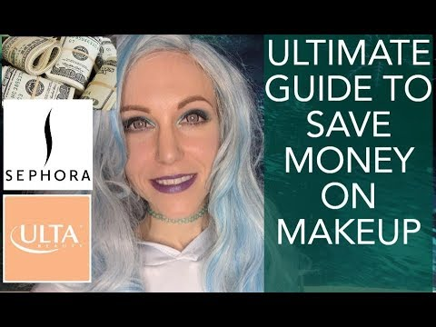 How to Save TONS of Money on High End Makeup/How to Get Free Makeup!