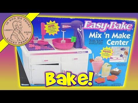 Kenner Easy Bake Mix 'N Make Baking Center & Dora The Explorer Cinnamon Sticks