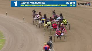 TABCORP PK MENANGLE - 18/06/2019 - Race 1 - FAMILY FUN DAY JUNE 30 HARNESS BREEDERS NSW BO…