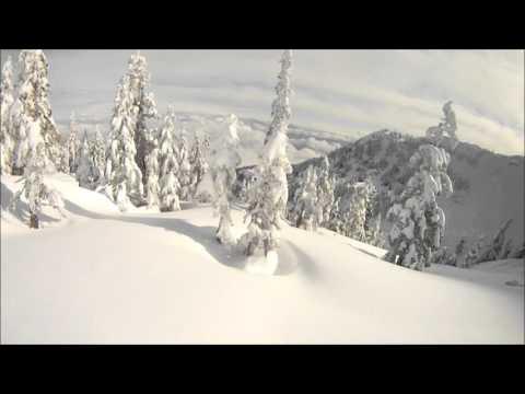 MT Washington snowboarding top of world to bottom of boomerang