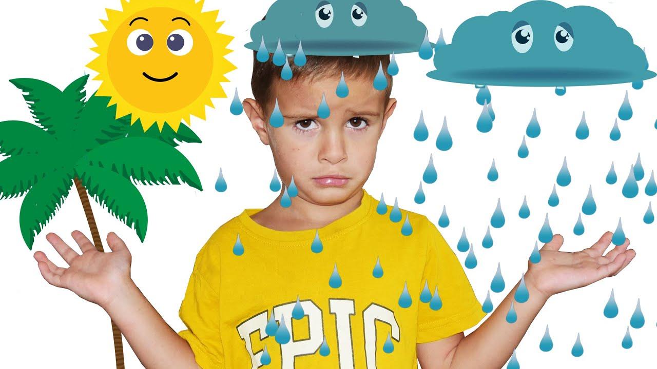Rain Rain Go Away Spanish, Lluvia Lluvia Vete Ya | Canciones Infantiles LETSGOMARTIN