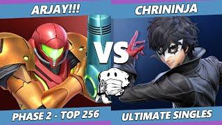 GOML 2020 SSBU - ARJAY!!! (Samus) Vs. Chrininja (Joker, Cloud) Ultimate Top 256