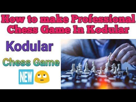 How to make chess game in kodular चेस गेम कैसे बनायें कोडूलर पे।