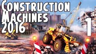 Construction Machines Simulator 2016 İlk İnceleme - TÜRKÇE