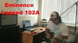 Поиск звука [3] Громкоговорящая динамическая головка (Celestion v30 vs Eminence 102A vs Jensen C8R)(Разница в звучании гитарных динамиков различного диаметра (Celestion V30 vs Eminence Legend 102A vs... Jensen C8R) на клине и нечист..., 2016-08-23T07:44:28.000Z)