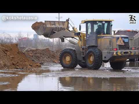 В Кокшетау затопило