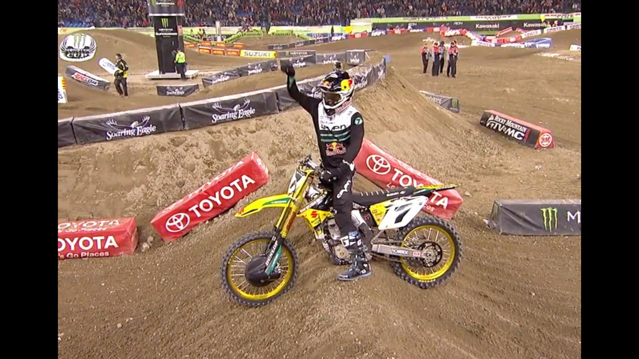 Supercross Rewind: 450 Main Event - Toronto 2014