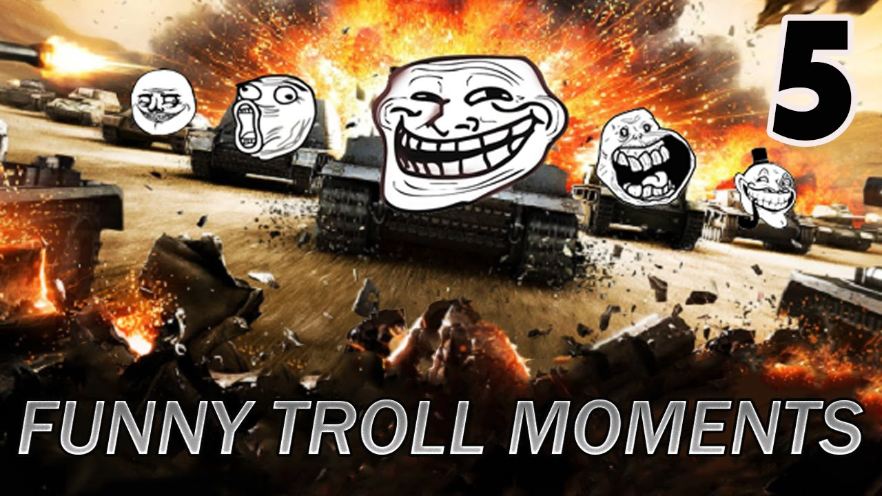 Humorous Troll Moments in World of Tanks Blitz #5