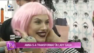 Teo Show (20.11.2017) - Amna, transformata in Lady Gaga! Cum arata Partea I