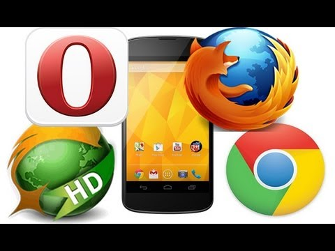 Best Android Browser? - Chrome vs. Firefox vs. Dolphin HD vs. Opera Mini
