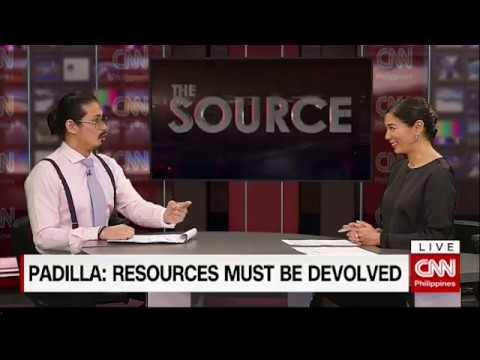 'The Source' speaks to Robin Padilla