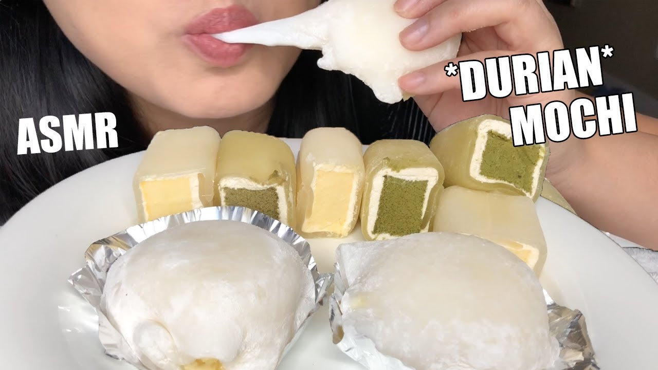 Asmr Durian Daifuku Mochi Cakes Sticky Eating Sounds No Talking Asmr Phan Youtube See more ideas about asmr, eat, sas. asmr durian daifuku mochi cakes sticky eating sounds no talking asmr phan