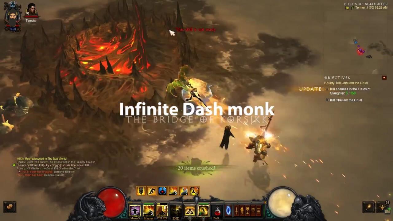Infinite Dash Monk Guide: We don't need no channeling pylon