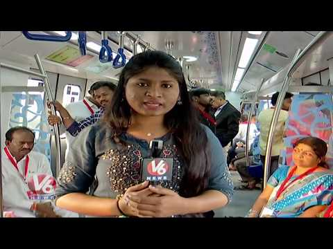 Special Report On JBS-MGBS Corridor Of Hyderabad Metro | V6 Telugu News