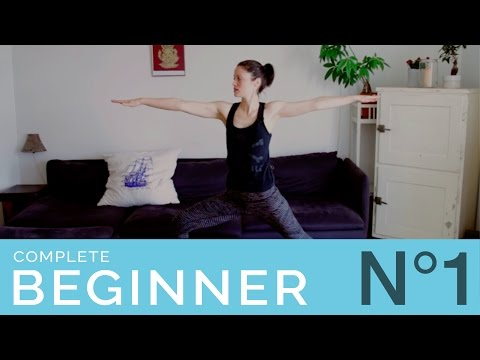 Complete Beginner Yoga Part 1 - 25 Min Workout with Basic Yoga Poses