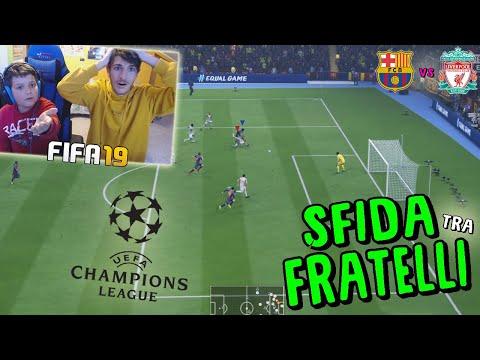 BARCELLONA vs LIVERPOOL - SEMIFINALE CHAMPIONS LEAGUE! - Fifa 19