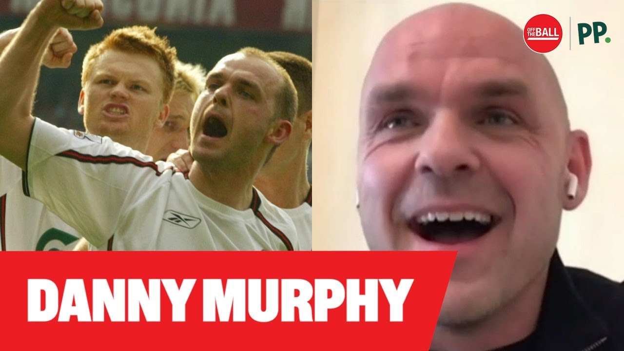 Danny Murphy joins Off The Ball for their latest episode