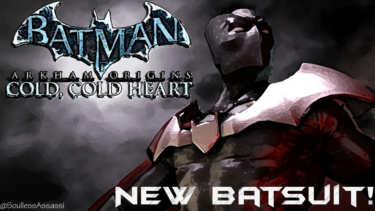 Batman Arkham Origins Cold Heart DLC New Batsuit Confirmed
