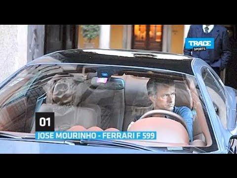 Jose Mourinho Car Collection