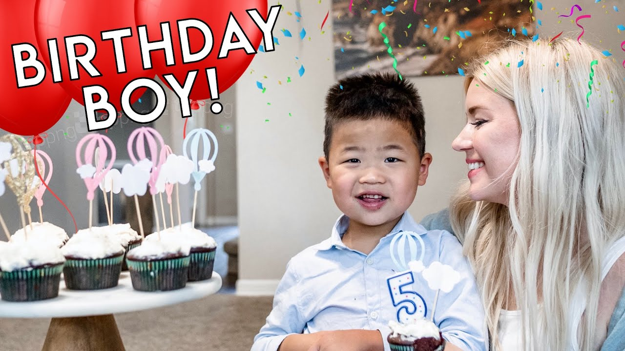 OUR SON TURNS 5!! 🎉 HAPPY BIRTHDAY LINCOLN!! 🎈
