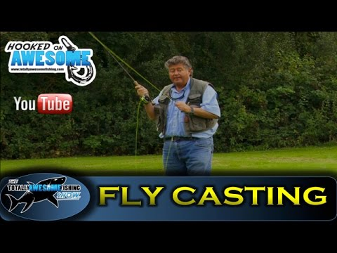 HOW TO FLY CAST! Beginners Casting Tips - by TAFishing Show