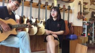 """"""" Vội Vàng """" guitar Dũng ABC - vocal Ngọc Anh live at GuitarSaoMai"""