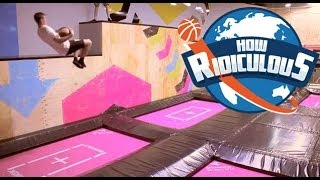 Trampoline Trick Shots - How Ridiculous