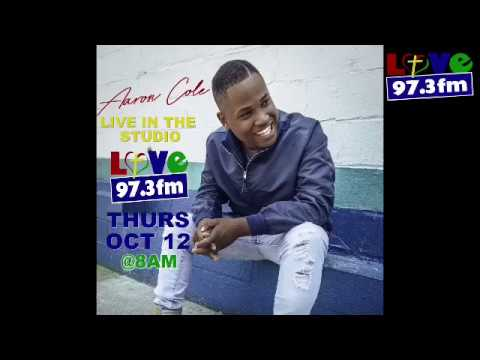Aaron Cole Live On Love FM 97.3  (Behind The Scenes)