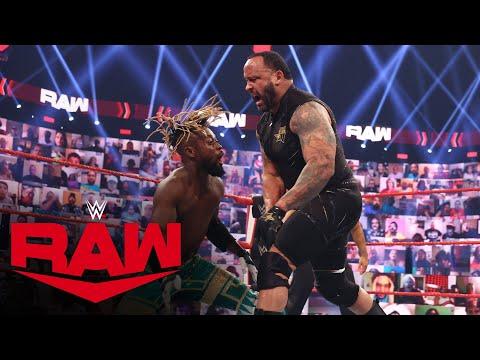The New Day vs. Bobby Lashley & MVP: Raw, July 5, 2021