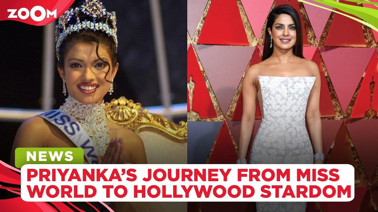 Happy Birthday Priyanka Chopra: Her inspiring journey from Miss World to a global sensation