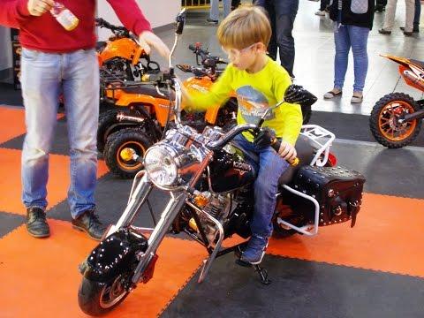 WOW! Mini bike with gas engine