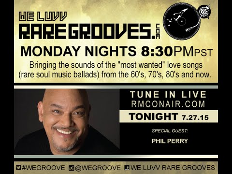 WE LUVV RARE GROOVES LIVE!  feat. PHIL PERRY