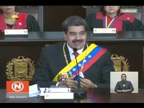 Discurso completo de Nicolás Maduro en el Inicio del Año Judicial 2019