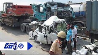 TP.HCM: Đâm liên hoàn, tài xế chết trong cabin | VTC