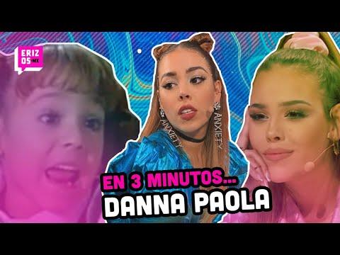 Danna Paola, la ÚNICA morra con 22 años de EXPERIENCIA | En 3 minutos