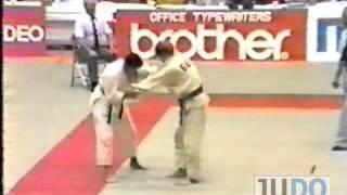JUDO 1983 World Jr Championships: Sergey Kosmynin (URS) - Mokoto Sakashita (JPN)