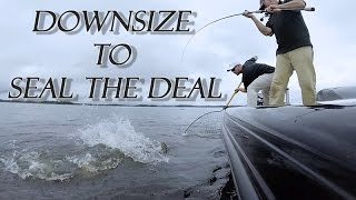 Musky!  Downsize to Seal the Deal