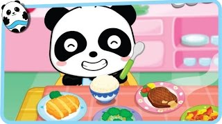 Baby Panda - Healthy Eater - Babybus Game for Kids