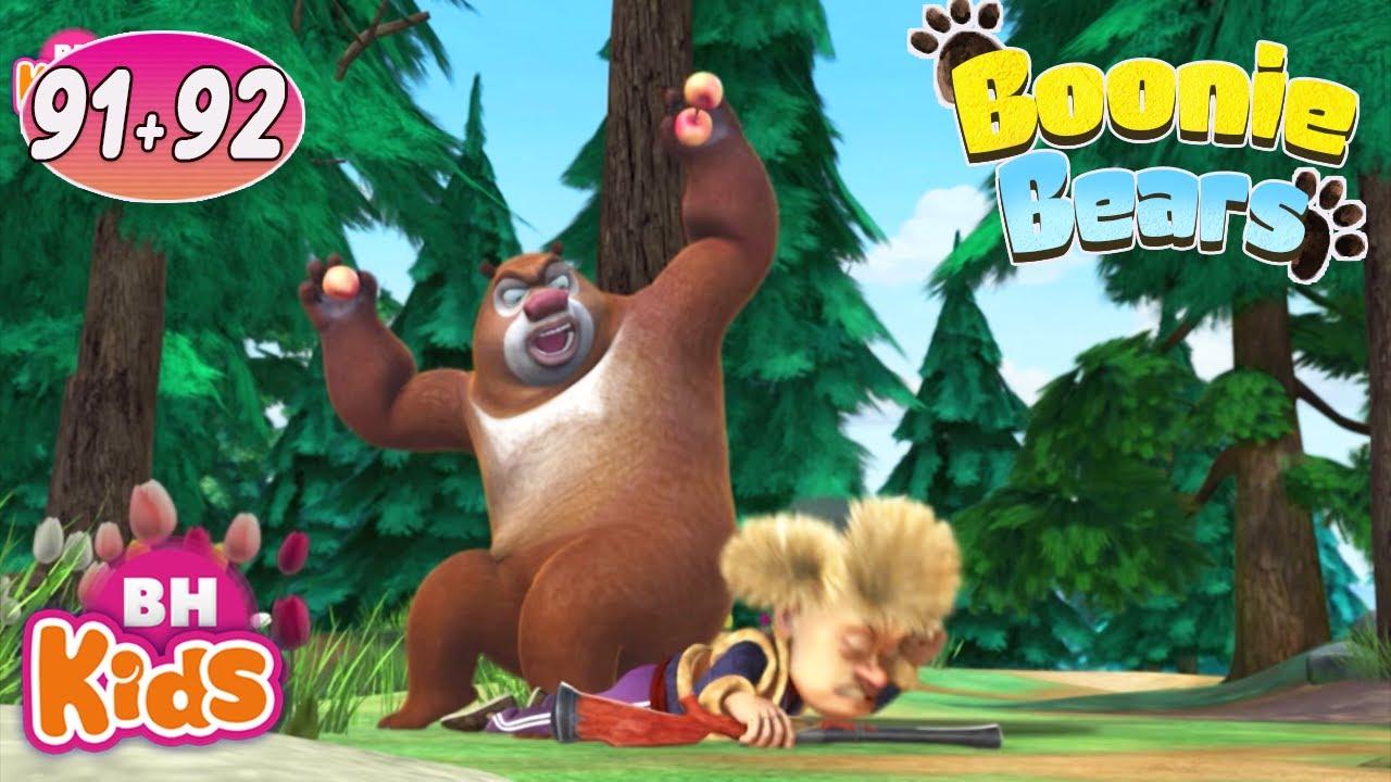 Phim Hoạt Hình 2 Chú Gấu Vui Nhộn: Cuộc Thi Xiếc Gấu - Hoạt Hình BOONIE BEARS , Tập 91 + 92