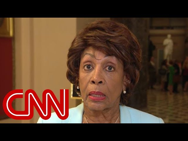 Rep. Maxine Waters on Trump tax returns: What does he have to hide?