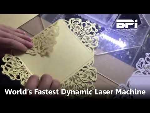 Amazing Fastest Dynamic Laser Machine - BPI