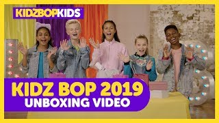 KIDZ BOP 2019 Unboxing with The KIDZ BOP Kids