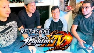 Retas con el Crew The King Of fighters XIV
