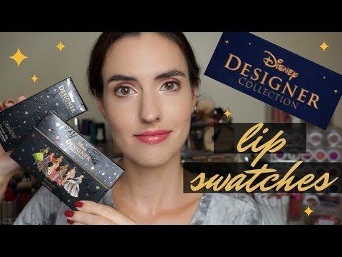ColourPop X Disney Designer Collection | Lip Swatches + Comparisons