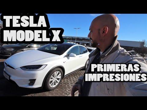 Probando el Tesla Model X: primeras impresiones