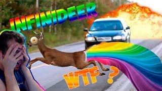 Infinideer ►симулятор оленя ) WTF◄лучшие игры