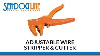 Wire Stripper & Cutter-From Sea-Dog Line